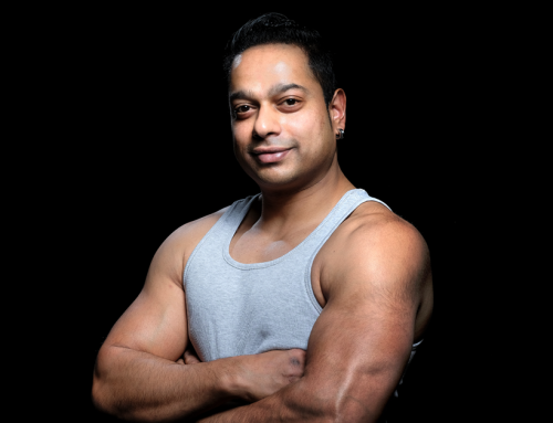 Meet our superman: personal trainer Aroen!