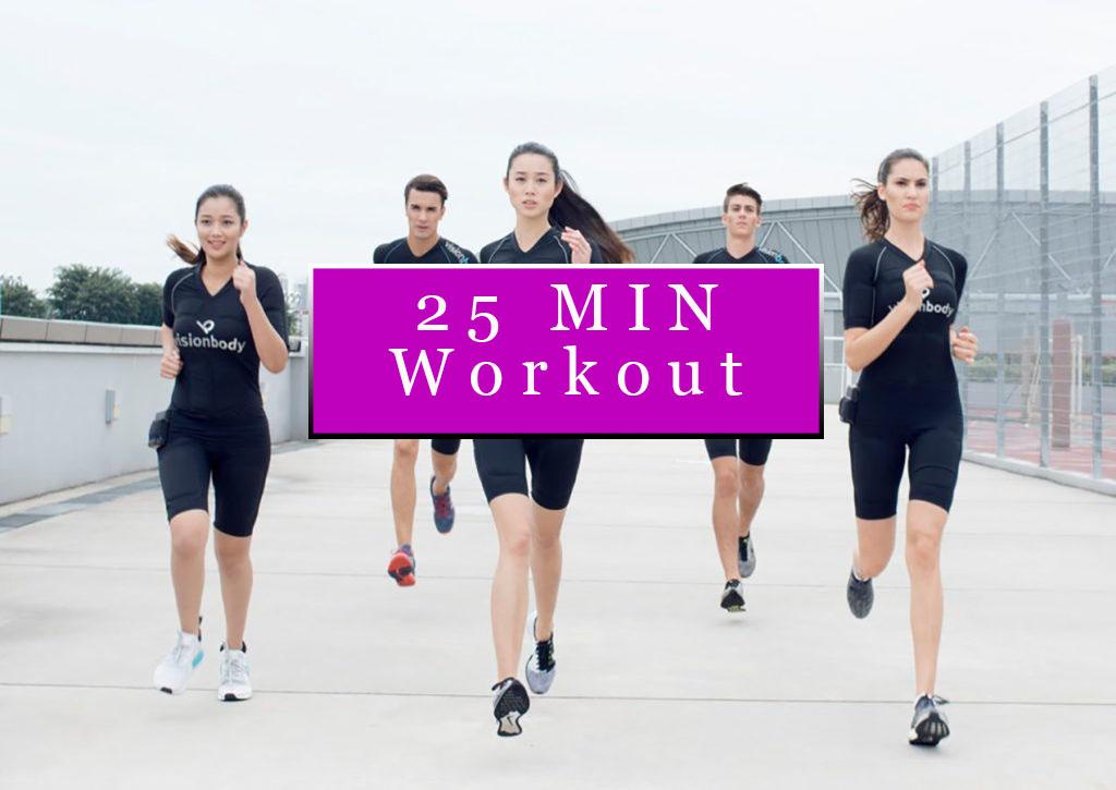 EMS 25 min workout