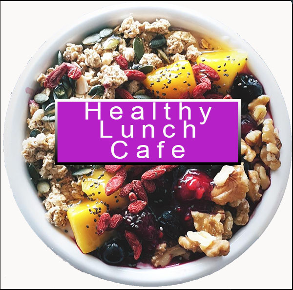Healthy lunch cafe